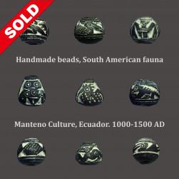 Olmec stone bead