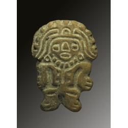 Mayan terracotta stamp