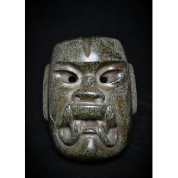 Olmec Were-Jaguar Mask