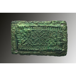Roman bronze Plaque