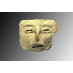 Aztec terracotta Facial stamp