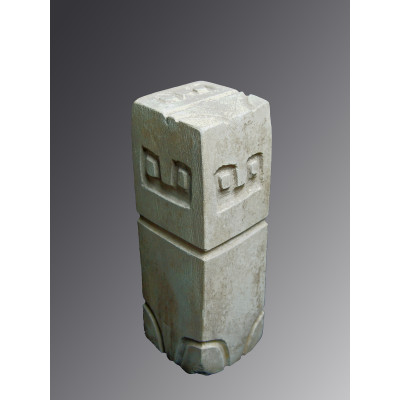 Valdivian Monolith Six Sided Stone
